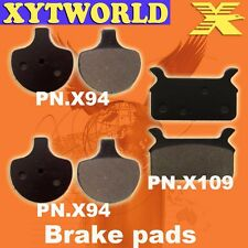 FRONT REAR Brake Pads for Harley Davidson FLHRCi Road King Classic 1998