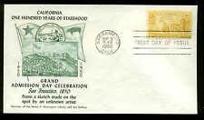 997 CALIFORNIA FDC SACRAMENTO, CA #M15 FULTON STAMP COMPANY CACHET UNADDRESSED