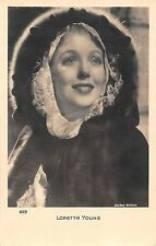 Actress Loretta Young, United Artists