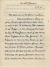Lettera Autografo di André Doderet Italianista Traduzione Opere D'Annunzio 1910