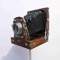 Antique Style Vintage Old Camera With Tripod Stand Model