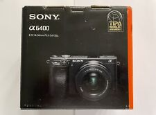 Sony Alpha A6400 24.2MP Mirrorless Digital Camera with E-mount 16-50mm Lens