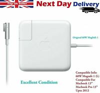 "Original 60W MagSafe1 Adaptor For Apple MacBook - MacBook Pro 13"" Power Charger"