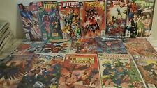 TEEN TITANS COMIC LOT  ALL NM   16  COMICS ALL IN BAGS AND BOARDS