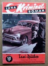 Luna-Kriminal Roman, Band 48:  Harry Hoff  /  Taxi-Räuber   (Z 2)