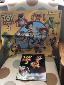 Panini Disney Pixar Toy Story 3 Sticker Album Complete VGC + Poster