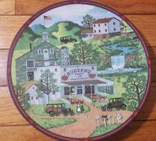 "Charles Wysocki Plate Antiques ""Budzen's fruits & vegetables"" Limited Ed. 1993"