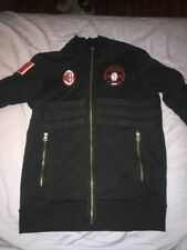 AC Milan Sweater Size Small Men Adidas Official Merchandise Black Italy Calcio