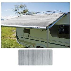 Fiamma Caravanstore Zip Top XL 550 Canopy Royal Grey Fabric Caravan 06771L02R