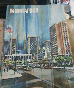 Vintage 1961 Minneapolis Tourism Magazine