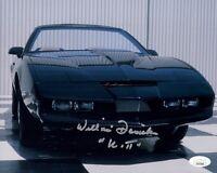 William Daniels Signed KITT Knight Rider 8x10 Photo IN PERSON Autograph JSA COA