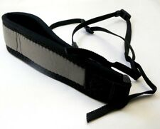 OP/TECH USA 5cm Wide PRO Black Neoprene Camera Neck Shoulder Strap