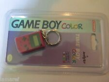 NINTENDO GAME BOY COLOR TIME BOY-RED.KEY CHAIN.