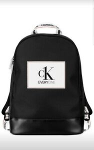 Calvin Klein Backpack  Gym Weekender Traveler Holdall Black NEW!