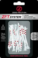 Zero Friction ZFT System 3-Prong Height Striped Performance Golf Tees 2-3/4""