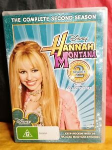 Hannah Montana : The Complete Season 2 (DVD, R4, 2009, 2-Disc Set)