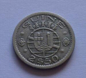 Portuguese Guinea 2-1/2 Escudos 1952
