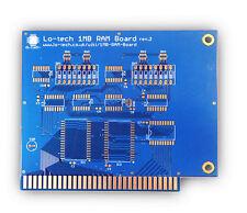 PCB Only Lo-tech 1MB Memory Board for 8-Bit XT PCs / Clones