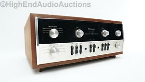McIntosh MA5100 Preamplifier Amplifier Integrated - MM Phonostage Cabinet Incl.