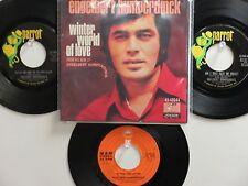 LOT OF 4 ENGELBERT HUMPERDINCK  HIT 45's+1PS[Winter World Of Love]  60's&70's!