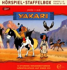 CD * YAKARI - Staffelbox (Folge 27-52 der 1.2 TV-Staffel) - mp3 CD  # NEU OVP &