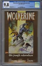 Wolverine: The Jungle Adventure #nn CGC 9.8 NM/MT Wp Annual #1 Marvel 1990 RARE