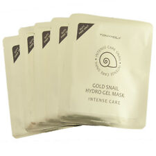TONY MOLY Intense Care GOLD 24K Snail HydroGel Mask  *Have Gold Ingredient* 10pc
