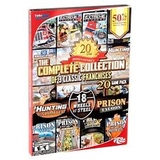 The Complete Collection 18 Wheels Of Steel, Hunting Unlimited, Prison Tycoon PC