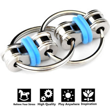 Top Quality Stainless Steel Bike Chain Fidget Hand Spinner Keyring Sensory Toy