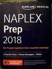 Kaplan Medical Naplex Prep 2018 Softcover
