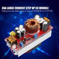 1500W 30A Module de Convertisseur élévateur de Tension Réglable 10-60V à 12-97V