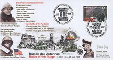 "FDC BELGIQUE ""60 ans Bataille des Ardennes - PATTON & TASSIGNY / WWII"" (T1) 2004"