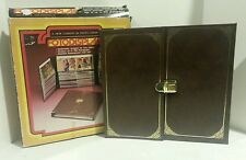 "NEW Vintage FotoDisplay Photo Album Leather-Grained Fits 200 Pictures 3 1/2"" x 5"