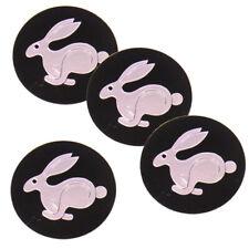 "4x 56mm 2.2"" VW Rabbit Emblem Wheel Center Hub Caps Decal Sticker for Volkswagen"