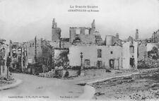 La Grande Guerre - GERBEVILLER en Ruines