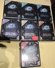 Star Trek Deep Space Nine Seasons 1-7 Hartboxen Neu OVP Sealed Deutsche Ausgabe