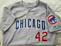 Chicago Cubs game-worn jersey JACKIE ROBINSON April 15, 2012 -- Carlos Marmol