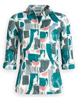 NEW Seasalt Larissa Shirt Print Process Ecru RRP £39.95 Save £20 Now £19.95