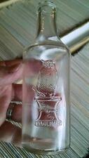 Antique OWL DRUG COMPANY Medicine Bottle Embossed OWL MORTAR & PESTLE TRADE MARK