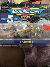 Galoob Micro Machines - Babylon 5 ships set #1, 1994 - 4 and up