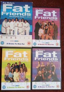 FAT FRIENDS: COMPLETE TV DRAMA DIET SERIES 1, 2, 3 DVD BOX SET RARE SUBTITLED