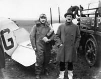 OLD LARGE PHOTO AVIATION HISTORY British Pioneer Aviator Alan Cobham c1920 4