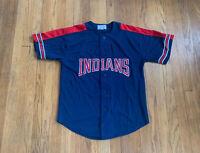 Cleveland Indians Vintage 90's MLB Starter Jersey Mens Medium EUC Rare