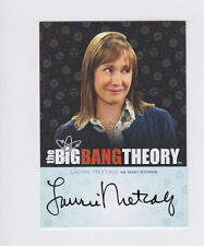 BIG BANG THEORY SIGNATURE  LAURIE METCALF AUTOGRAPH A12 AUTO CRYPTOZOIC 2012