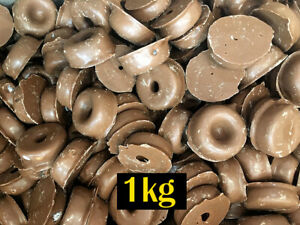 Milk Chocolate Aniseed Rings 1kg Bulk Lolly Buffet Party
