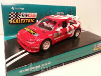 Slot SCX Scalextric Edición 1999 Club Scalextric Renault Megane  - New