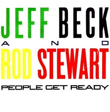 """7"""" - JEFF BECK AND ROD STEWART - PEOPLE GET READY (SPANISH EDIT. 1985) NEW"""