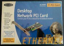 BELKIN DESKTOP NETWORK 32 BIT PCI CARD ETHERNET 10/100BT