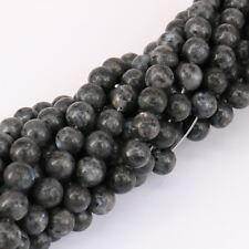 15'' Lots Natural Labradorite Gemstone Stone Spacer Loose Beads Craft 4/6/8/10MM
