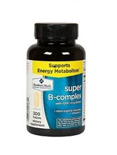 Member's Mark Super B-complex with1000 mcg Biotin Dietary Supplement 300 Tablets